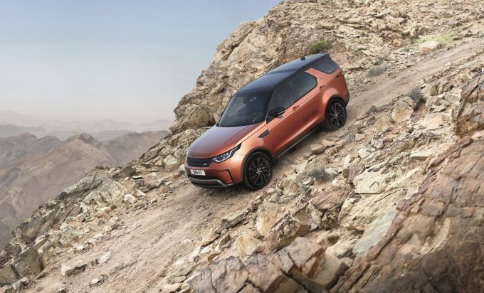 Land Rover Discovery получит больше хардкора